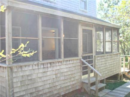 Truro Cape Cod vacation rental - Screened porch for relaxing
