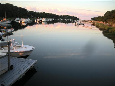 West Chatham Cape Cod vacation rental - Oyster River from the boatyard wharf