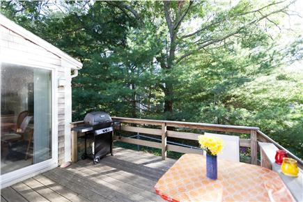 Orleans Cape Cod vacation rental - Deck accessible from dining area and master bedroom