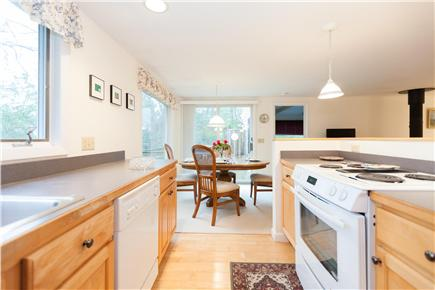 Orleans Cape Cod vacation rental - Kitchen connects to dining area