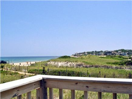 Plymouth MA vacation rental - White Horse Beach Cottage view from upper deck. rental ID 25980