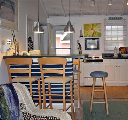 Plymouth MA vacation rental - Clean, bright, updated open interior.  Cozy Kitchen/Main Room.