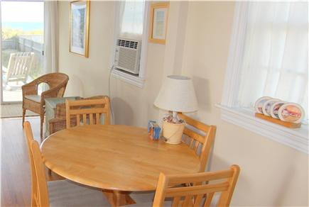 Truro Cape Cod vacation rental - Dining Table With View of Bay