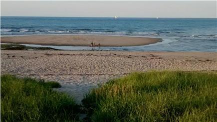 Sagamore Beach Sagamore Beach vacation rental - Path to the beach, and summer sandbar