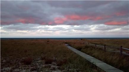 Sagamore Beach Sagamore Beach vacation rental - Fall, amazing painted sky at dusk