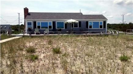 Sagamore Beach Sagamore Beach vacation rental - View of the house from the dune