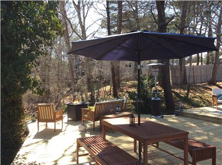 West Dennis Cape Cod vacation rental - Beautiful 1000 sq ft deck for guests exclusive use