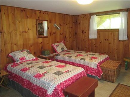 Wellfleet Cape Cod vacation rental - Twin bedroom lower level