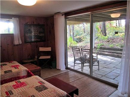 Wellfleet Cape Cod vacation rental - Lower level access to outdoor shower and private patio