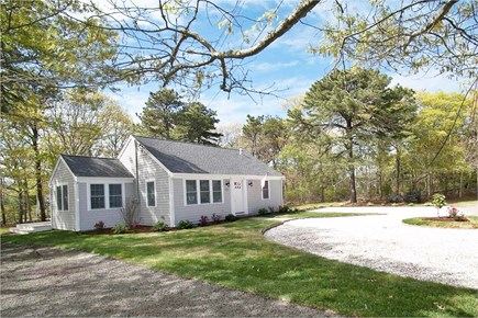 West Yarmouth Cape Cod vacation rental - Professionally landscaped, large half-acre lot (partially shown).