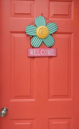 East Falmouth Cape Cod vacation rental - Front Door
