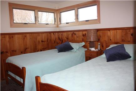 Mashpee Cape Cod vacation rental - Child or guest bedroom, two twins; dresser, closet not shown