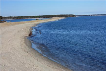 Mashpee Cape Cod vacation rental - ''The Spit'' the next beach over