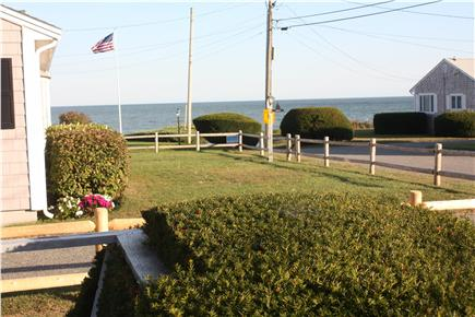 Mashpee Cape Cod vacation rental - View from the deck