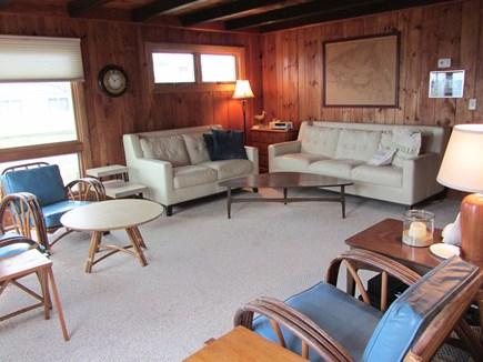 Mashpee Cape Cod vacation rental - Livingroom, flat screen TV over fireplace, not shown
