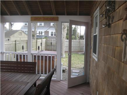 New Seabury, Popponesset Beach New Seabury vacation rental - Screened Porch