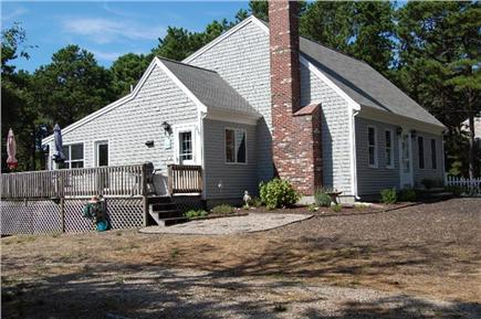 Eastham Cape Cod vacation rental - Large yard with deck