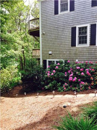 West Yarmouth Cape Cod vacation rental - Exterior side view of both decks