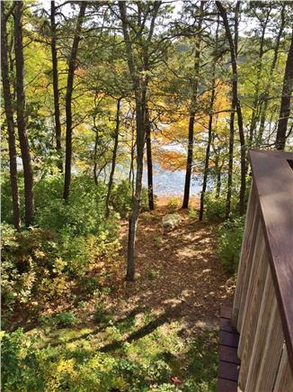 West Yarmouth Cape Cod vacation rental - Easy access to the pond