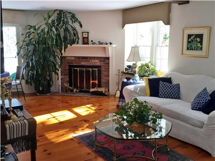 West Yarmouth Cape Cod vacation rental - Living Room with sliders to deck