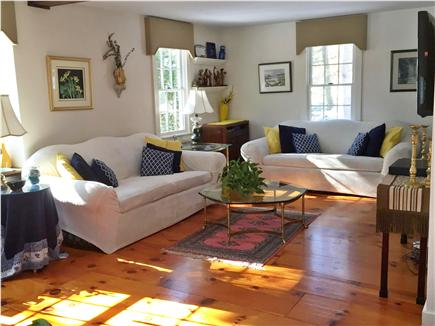 West Yarmouth Cape Cod vacation rental - Sunny Living Room with ample seating