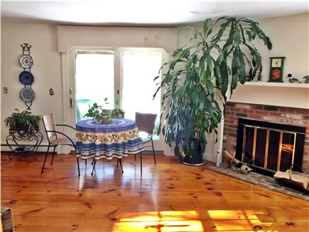 West Yarmouth Cape Cod vacation rental - Dining Area overlooking pond