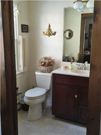 West Yarmouth Cape Cod vacation rental - Nautical Powder Room on the first floor