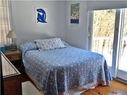West Yarmouth Cape Cod vacation rental - Guest Bedroom with slider to deck