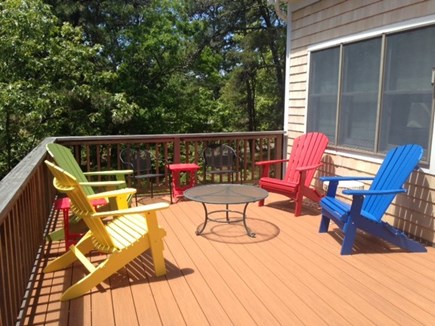 Wellfleet Cape Cod vacation rental - Nice Big Back Deck