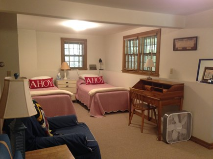Wellfleet Cape Cod vacation rental - Twins In Open Room On Bottom Level