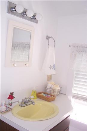 West Chatham Cape Cod vacation rental - Bathroom vanity