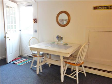 West Chatham Cape Cod vacation rental - Table for 2