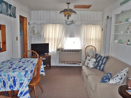 Dennisport Cape Cod vacation rental - Updated living room