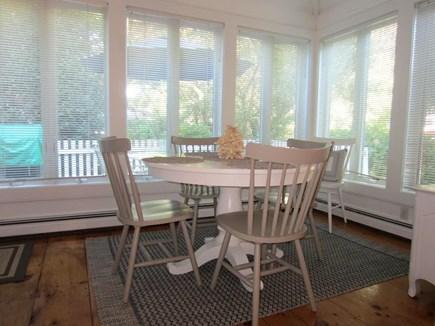 New Seabury, Mashpee New Seabury vacation rental - Private Patio View from Dining Area