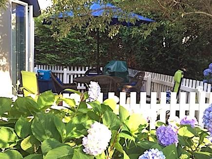 New Seabury, Mashpee New Seabury vacation rental - Private Patio with Weber Grill