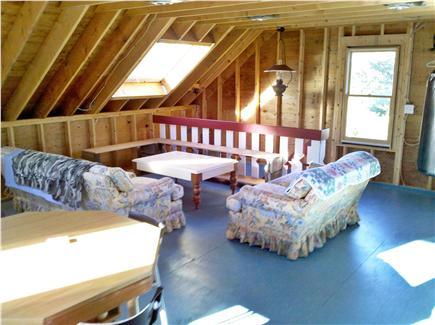 Chatham Cape Cod vacation rental - Bonus unfinished loft area atop garage - great for kids!