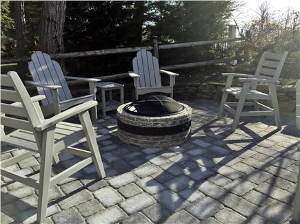 Chatham Cape Cod vacation rental - Enjoy the fire pit on the patio under the stars
