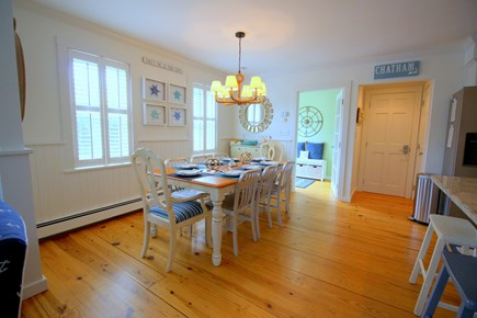 Chatham Cape Cod vacation rental - Full size dining with plenty of seating for meals and game nights