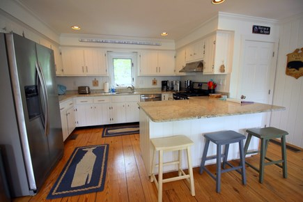 Chatham Cape Cod vacation rental - Updated kitchen with new appliances, granite and large island