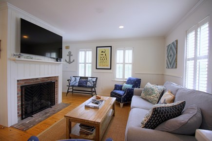 Chatham Cape Cod vacation rental - 55 inch TV with 150+ HD channels and Wifi included