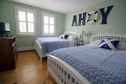 Chatham Cape Cod vacation rental - The Ahoy Room - 2 full/double beds with TV and cable