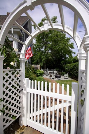 Chatham Cape Cod vacation rental - Welcoming arbor leads to the private outdoor living spaces