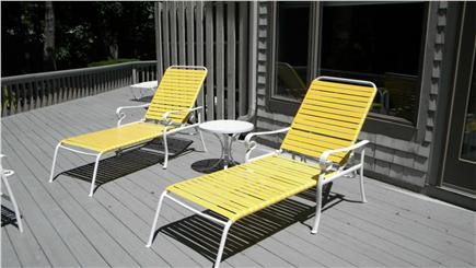 New Seabury New Seabury vacation rental - Deck area