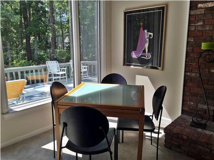 New Seabury New Seabury vacation rental - Living Room Card Table Area