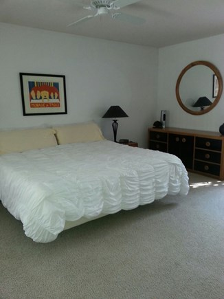 New Seabury New Seabury vacation rental - Master bedroom with two connected bathrooms with access to deck