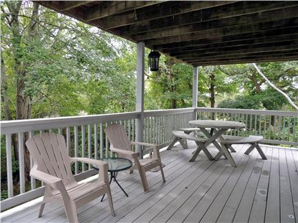 Harwich Cape Cod vacation rental - Lower Deck