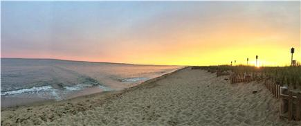 New Seabury, Mashpee New Seabury vacation rental - Sunset at Town Beach with view of Martha's Vinyard