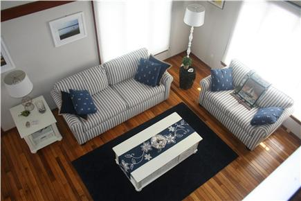 New Seabury, Mashpee New Seabury vacation rental - View of living room looking down from loft