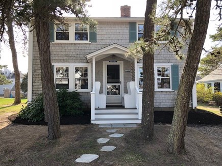 Dennisport Cape Cod vacation rental - Cape House - Front View, Wi-Fi in cottage