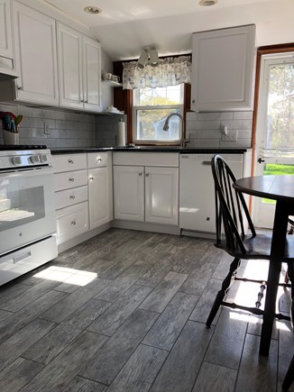 Dennisport Cape Cod vacation rental - Newly updated eat in kitchen.